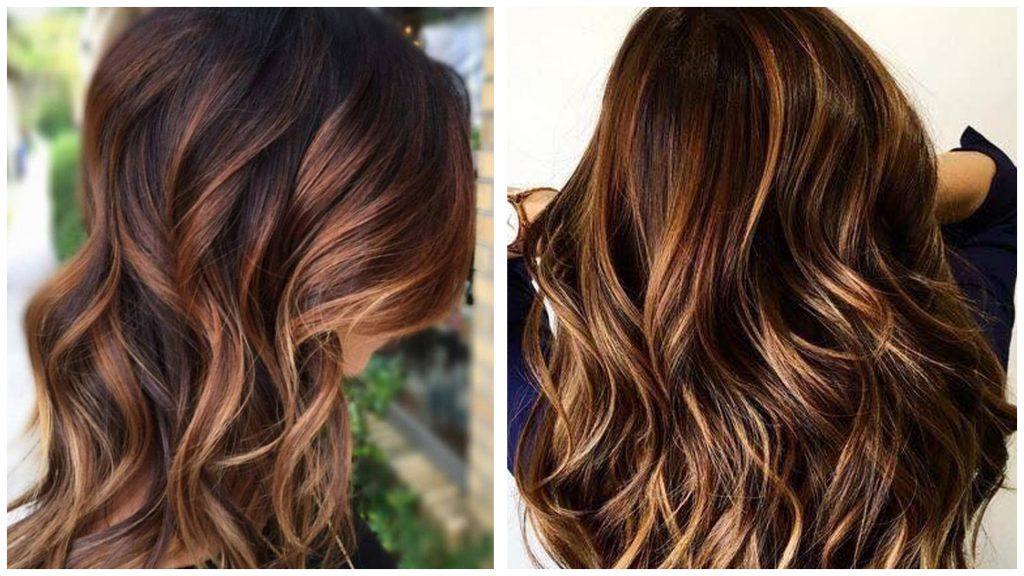Color de pelo con mechas 2020