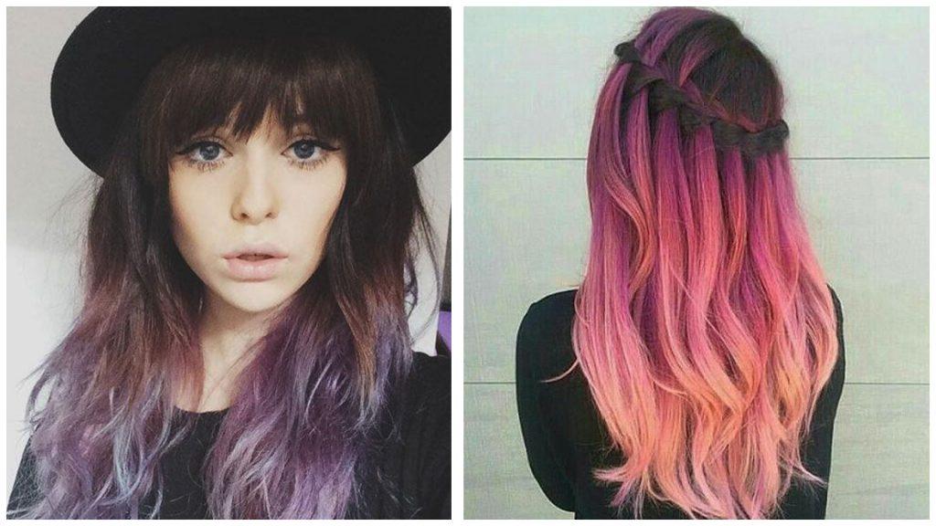 Colores para mechas en cabello negro