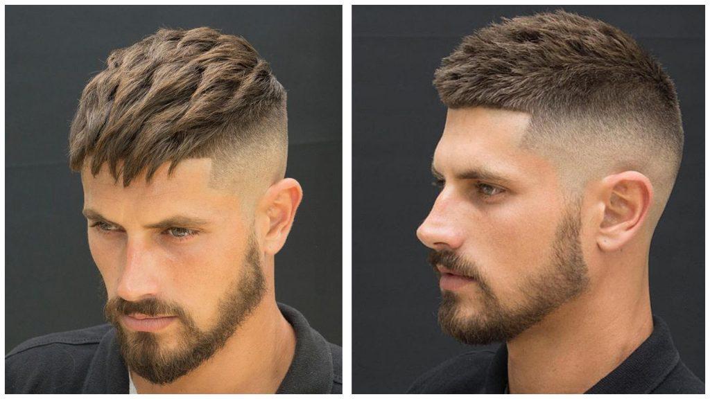 Peinados con el pelo corto de hombre