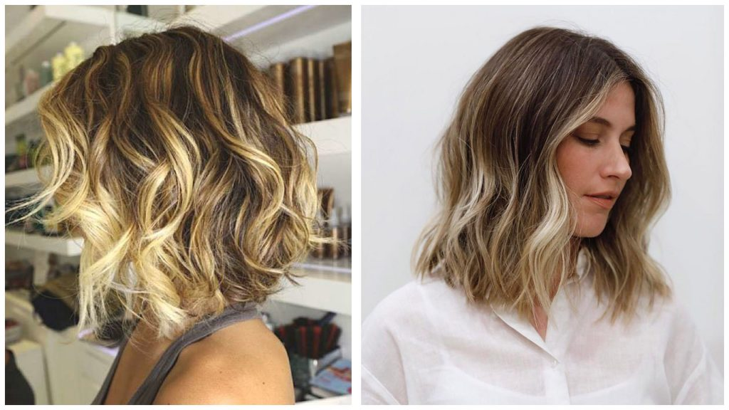Peinado ondas hacia atras