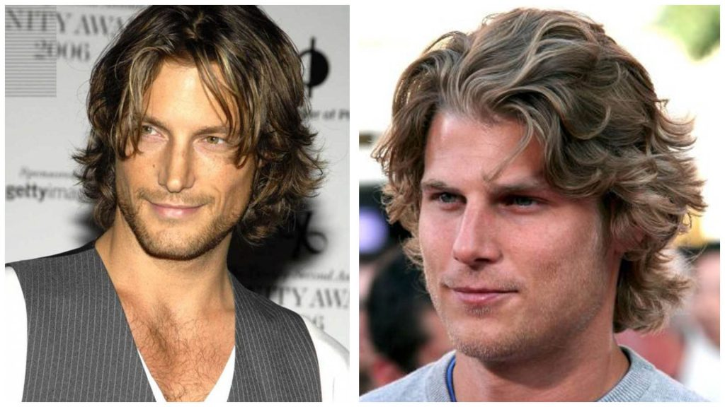Cortes de cabello para hombres cabellos largos